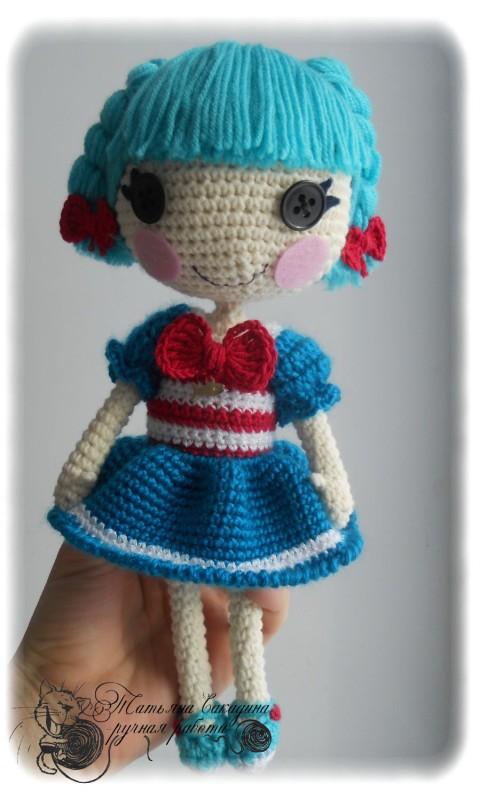 амигуруми лалалупси кукла