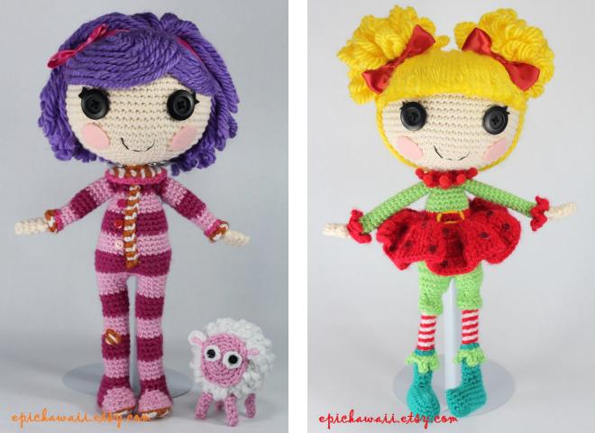 кукла lalaloopsy схема вязания