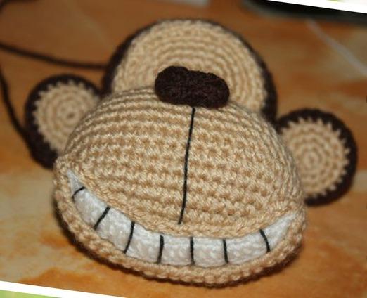 схема вязания обезьянки амигуруми