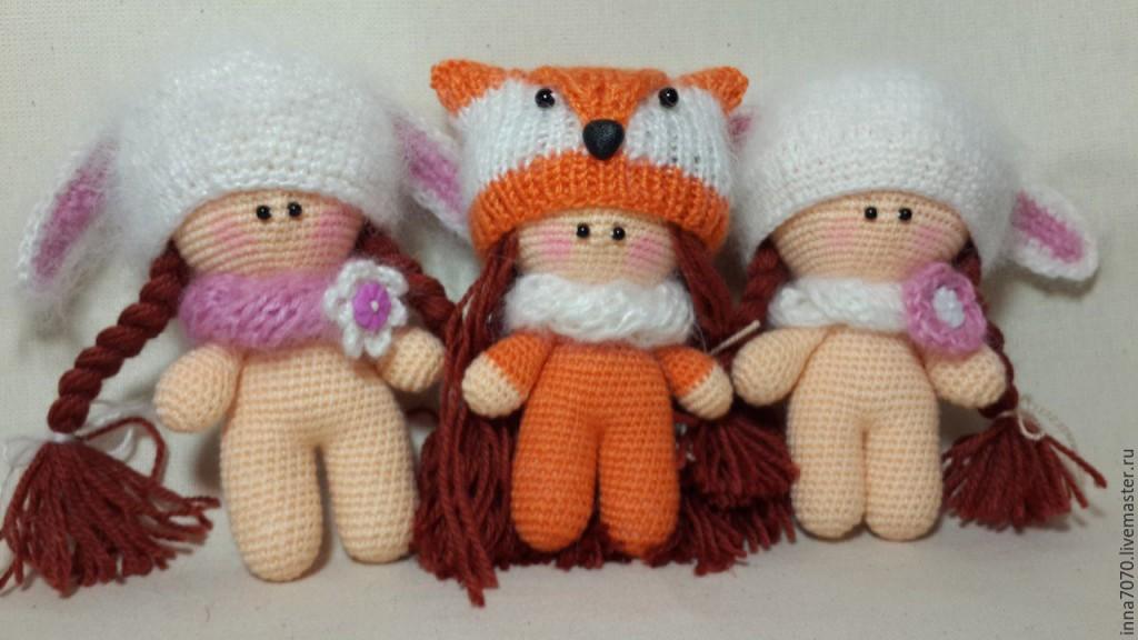 вязаные куклы крючком схемы игрушек амигуруми описание