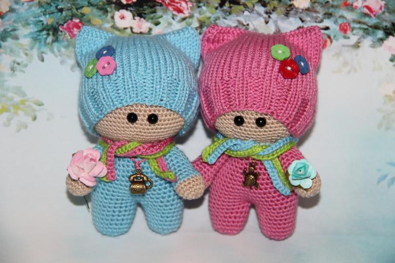 игрушки крючком схемы вязания игрушек малыш йо-йо