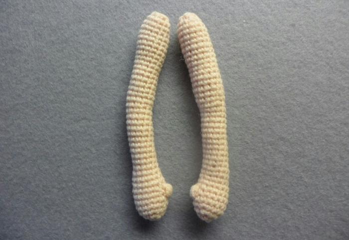 как связать руки пальцы для куклы схема мк