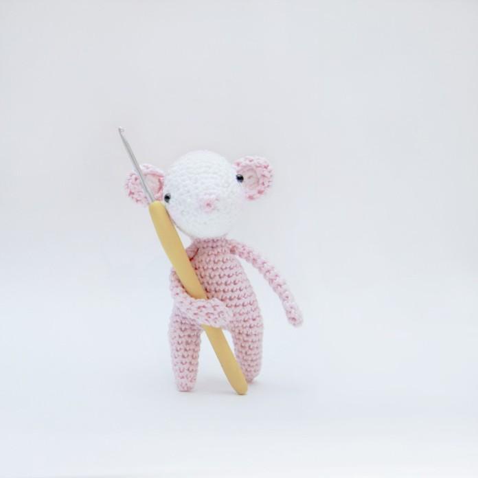 мышка амигуруми крючком мастер класс