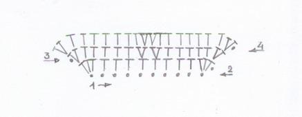 схема вязания маски енота амигуруми