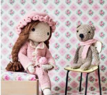 вяжем куклам одежда крючком