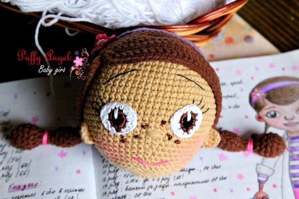 вязание кукол крючком мк