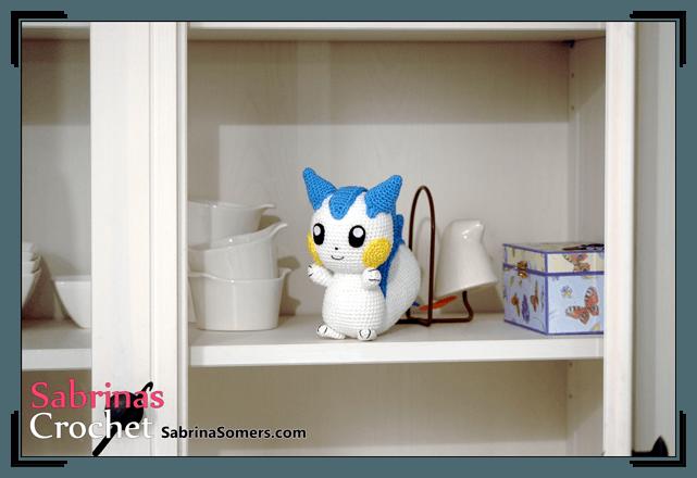вязаные игрушки покемоны крючком