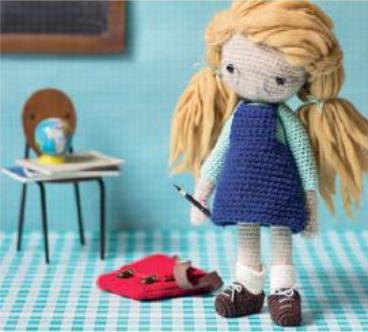 вяжем кукол и одежду для них крючком