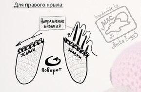 вязаный фламинго амигуруми крючком описание