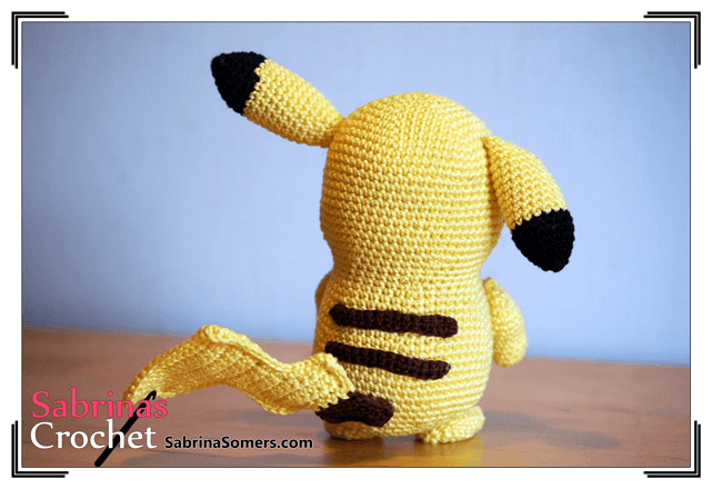 игрушки покемоны крючком схемы