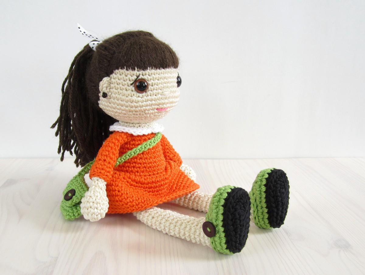 куклы амигуруми крючком схемы