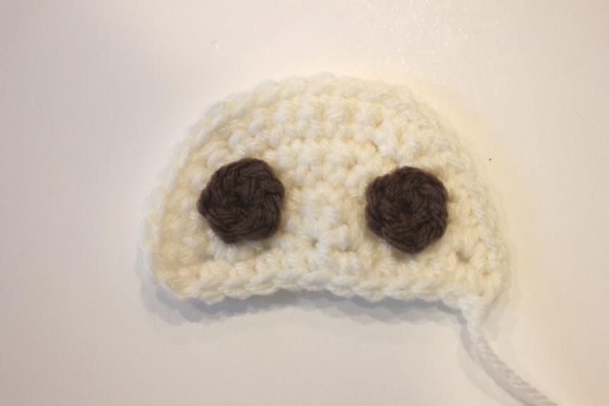 вяжем шапочку для новорожденного крючком