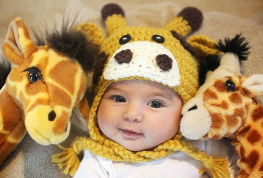 вязаная шапочка крючком для новорожденного схема