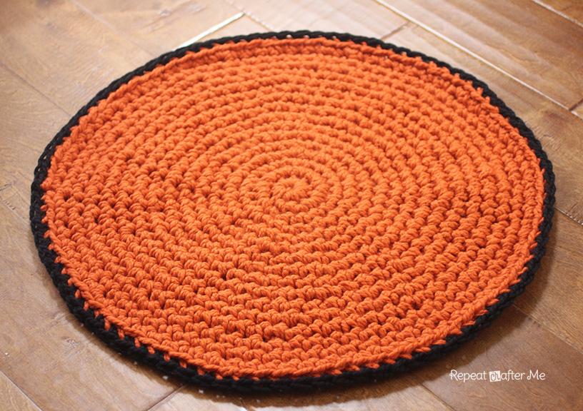 для дома схема коврик