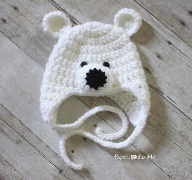 вязание крючком для детей схема шапки