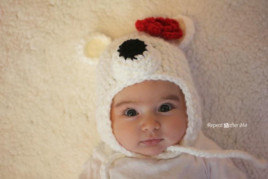 детская шапка связанная крючком схема