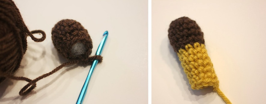 как связать детскую шапочку жирафа крючком