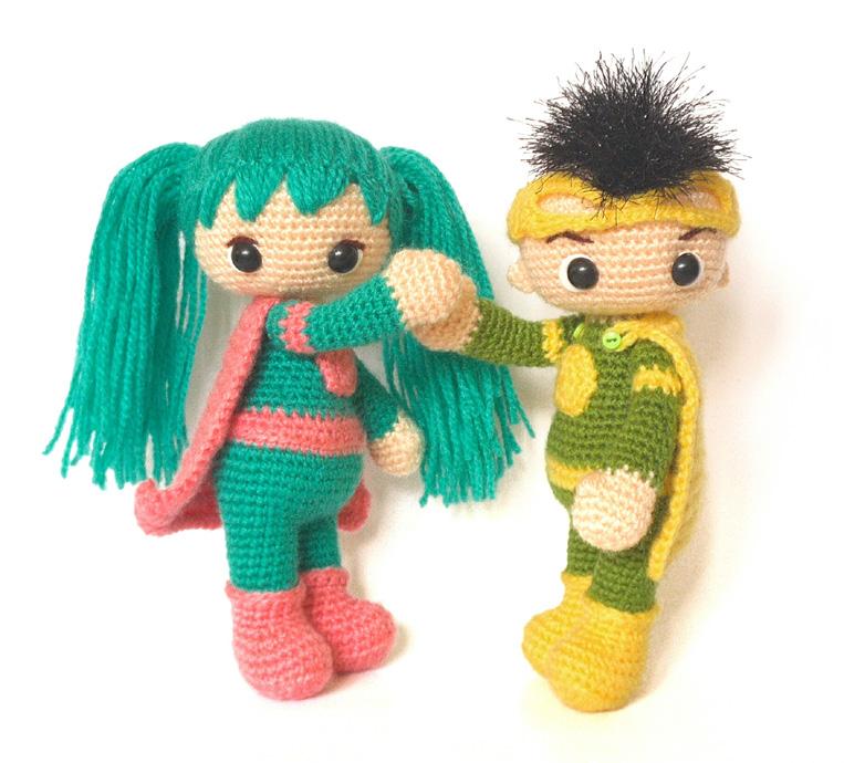схемы вязания крючком кукол супердетки