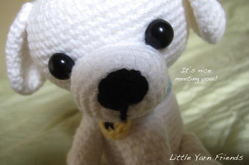 амигуруми собака кино схема вязаной игрушки