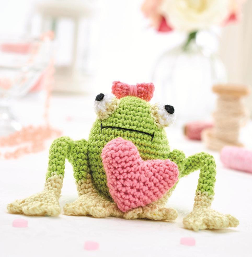 игрушка амигуруми лягушка Эсмеральда крючком схема