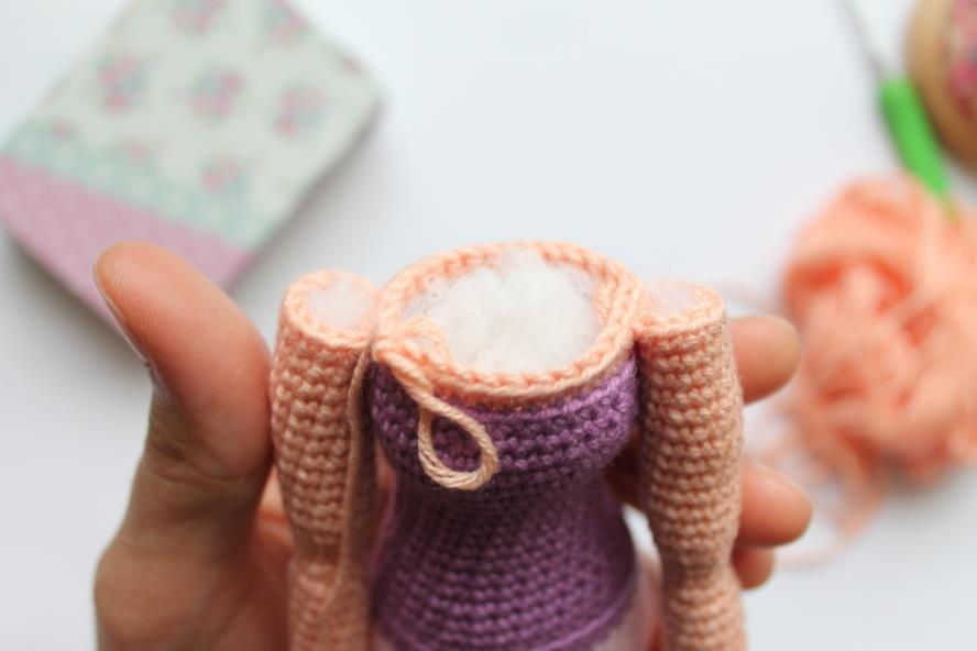 Вязание каркасных кукол крючком схема амигуруми