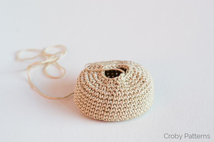 Вязание пончик крючком