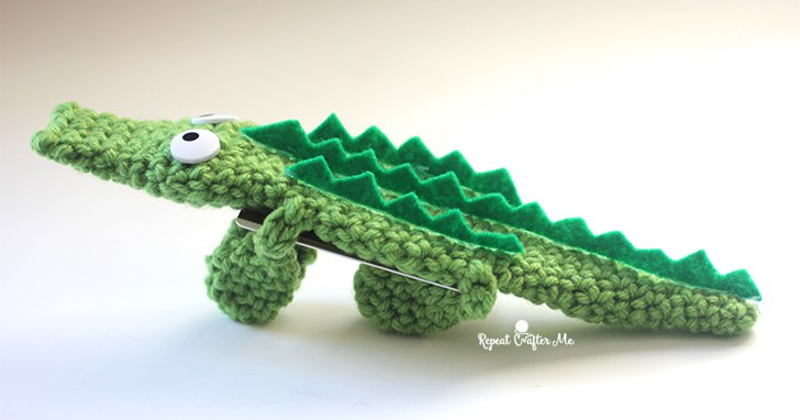 Игрушки крючком крокодил амигуруми