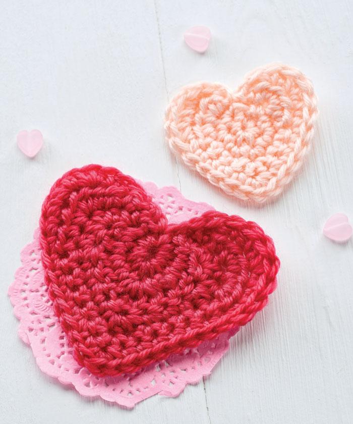 Как связать сердечко крючком
