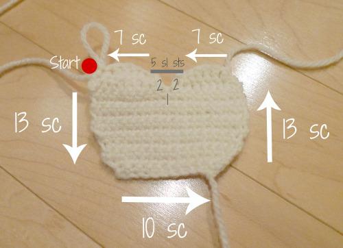 Вязание игрушки крючком схемы