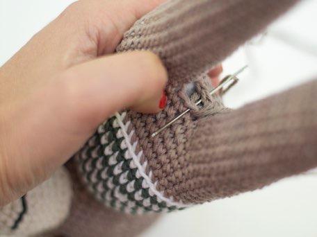 Вязание крючком игрушки схема ослика