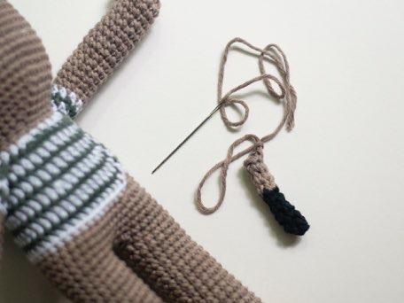 Вязанная игрушка ослик мастер класс