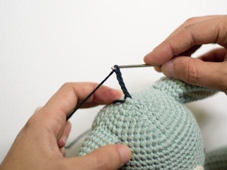 Как вязать ослика амигуруми крючком