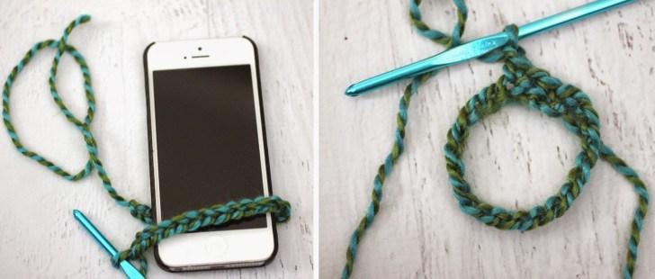 Как связать чехол для телефона крючком