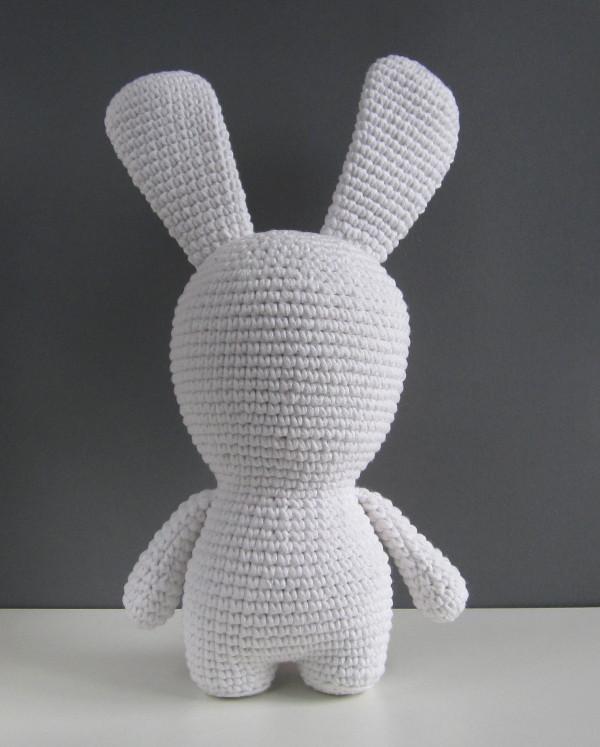 Кролики Рэймана крючком схема