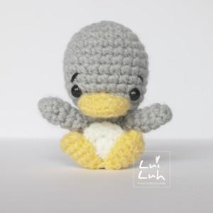 Пингвин амигуруми схема вязаной игрушки