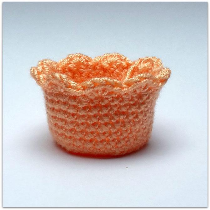 Пирожное капкейк крючком схема игрушки