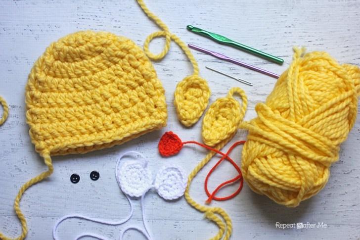 Шапочки для новорожденных вязаные крючком