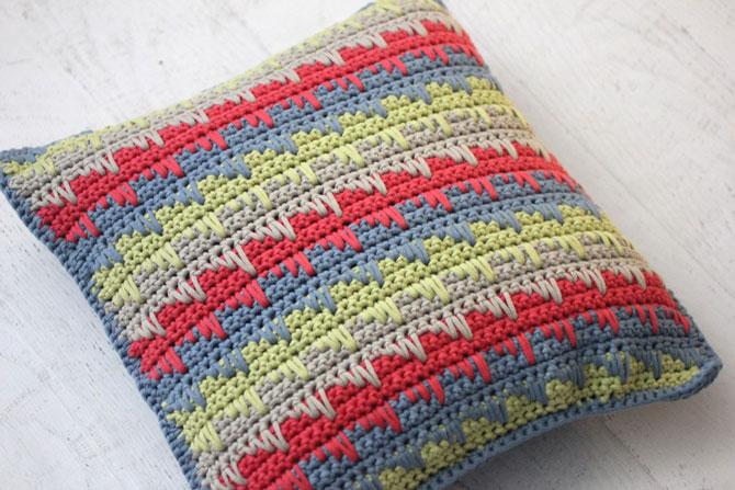Вязание крючком подушки схемы