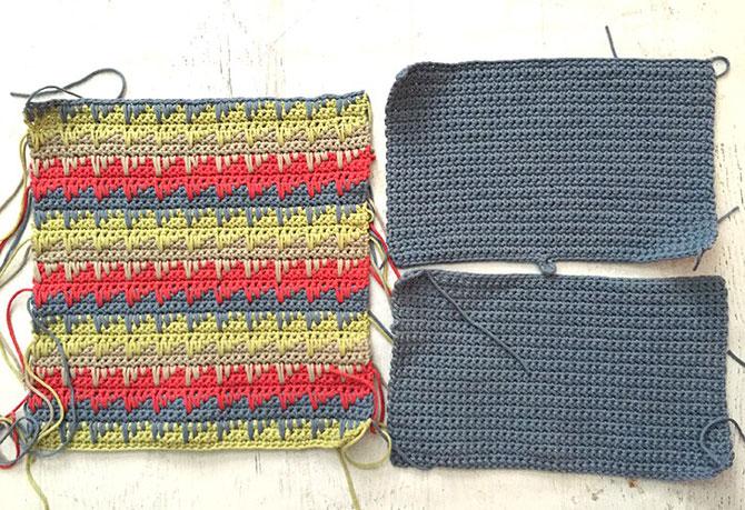 Вязание подушки крючком схемы