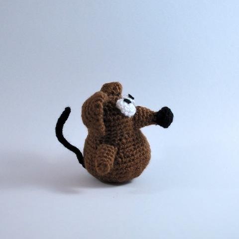 Игрушки крыски крючком схемы
