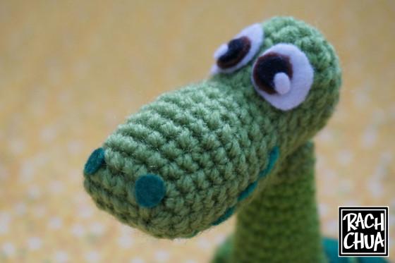 Схемы игрушек динозавр крючком