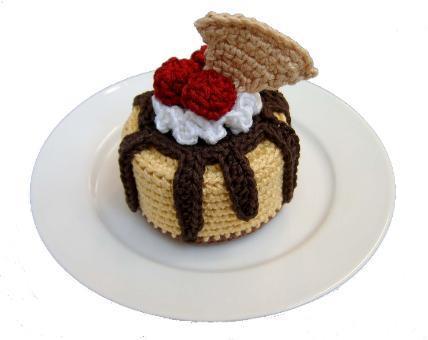 Схема торта вязанного
