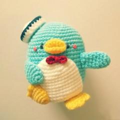 пингвин амигуруми Сэм