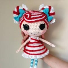 кукла крючком лалалупси