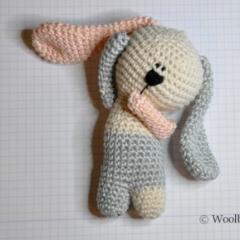 Кролик связанный крючком схема