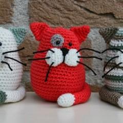 амигуруми для начинающих кот схема вязания