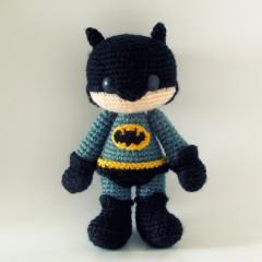 вязаная игрушка бэтмен крючком схема описание