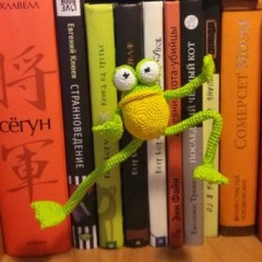 мистер фрог схема вязания описание лягушонка амигуруми
