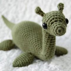 вязание игрушек крючком лохнесское чудовище