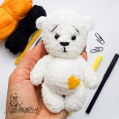 игрушки амигуруми крючком мишка